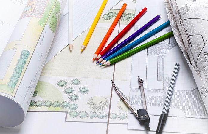 Planung von Gärten